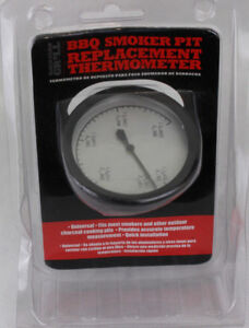 Backyard Grill BBQ Smoker Pit Replacement Thermometer ...