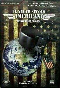 IL NUOVO SECOLO AMERICANO un documentario di Massimo Mazzucco - DVD EX NOLEGGIO