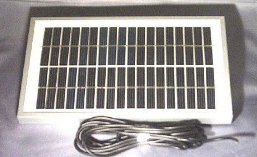 4W BAITBOAT SOLAR PANEL BATTERY CHARGER FOR 12V BAIT BOAT FOR CARP FISHING