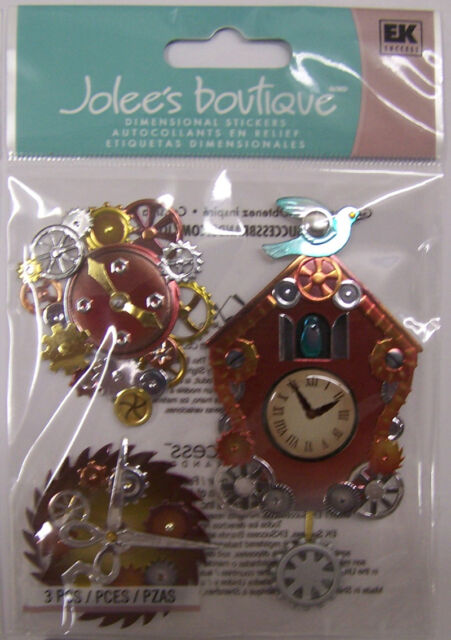 Jolee/'s By You Clock Dimensional Stickers