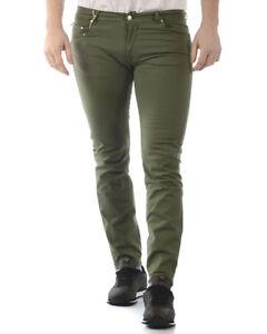 13455ea82e Pantaloni Daniele Alessandrini Jeans Trouser Uomo Verde ...