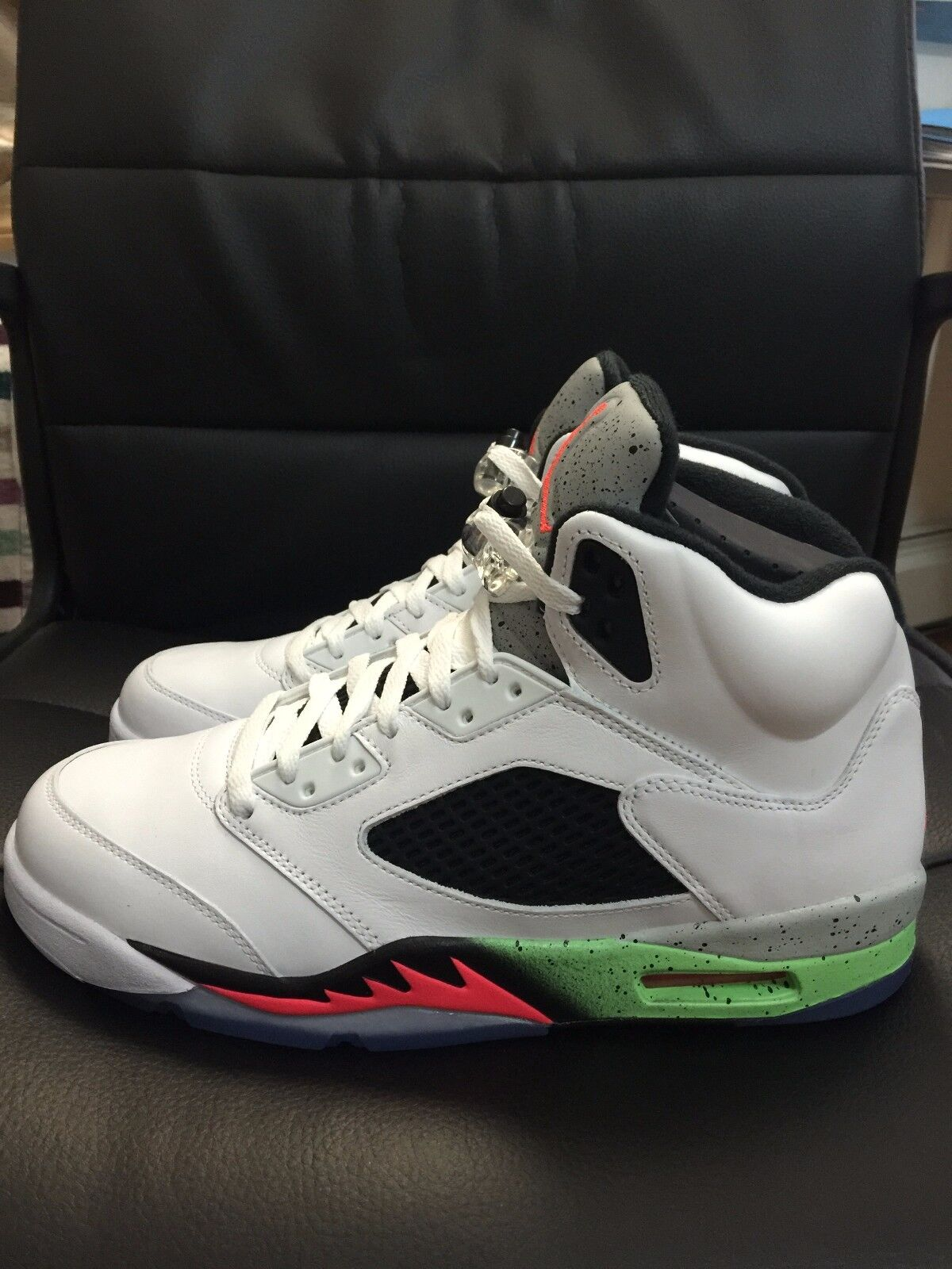 Air Jordan 5 Retro Poison Green size 10 Great discount