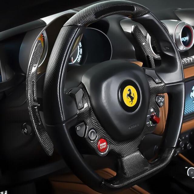 Ferrari California F1 Paddle Shifters Carbon Fiber P N 310691 For Sale Online Ebay