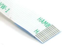 12-broches 0.5mm Terrain 6cm 60mm Non Inversé Ffc Flex Câble Ribbon / Ruban