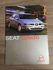 SEAT TOLEDO YEAR 2000 RANGE CAR BROCHURE. 2.3 V5 1.8 20V 1.9 TDi 110 SE AUTO MAN