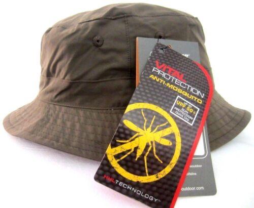 Schutz Taupe  M, Life Line Pepra Hut Cap Safari Sonnenschutz  Antiinsekt UPF 50
