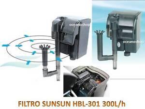 FILTRO-MOCHILA-300l-h-EXTERNO-ACUARIO-EXTERIOR-CASCADA-2W-CAUDAL-REGULABLE