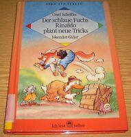Der schlaue Fuchs Rinaldo plant neue Trick - Ursel Scheffler  Nord-Süd Buch geb