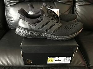 27bb29a1a ADIDAS ULTRABOOST ULTRA BOOST TRIPLE BLACK SIZE UK 6.5 7 7.5 8 9 9.5 ...