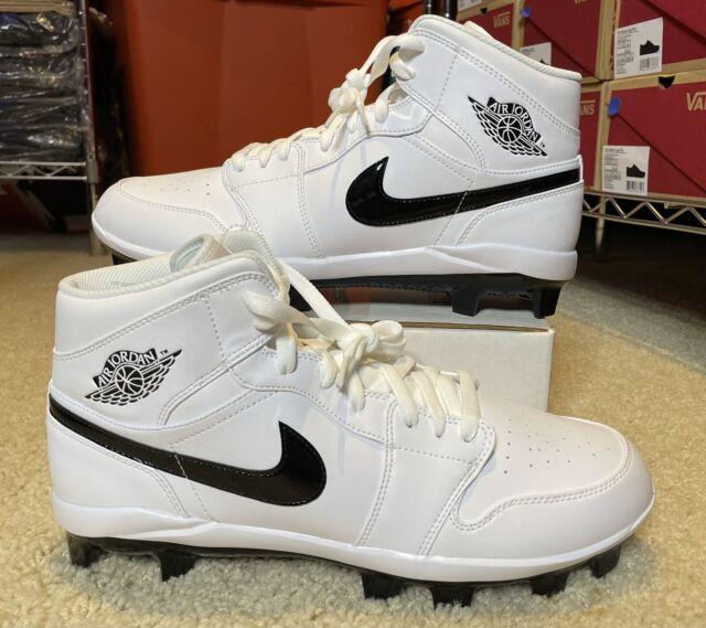 desconocido plan deberes  Sz 11 Men Nike Jordan 7 Retro MCS Black Oreo Baseball Cleats 684942 010 for  sale online | eBay