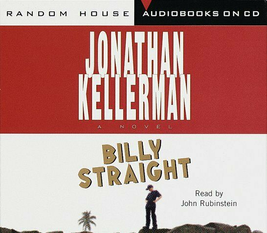 Billy Straight by Jonathan Kellerman Audiobook (CD, 1998, 3-Disc Set) NEW