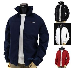 741dc938 NWT TOMMY HILFIGER Men's Windbreaker Jacket Coat Water Resistant ...