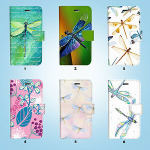 Dragonfly-Flip-Wallet-Case-Cover-Samsung-Galaxy-S3-4-5-6-7-8-Edge-Note-Plus-029