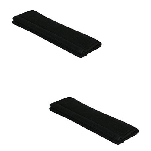 Gurtpolster Gurtschutz Sicherheitsgurtschoner Gurtschoner schwarz Polster 2Stk