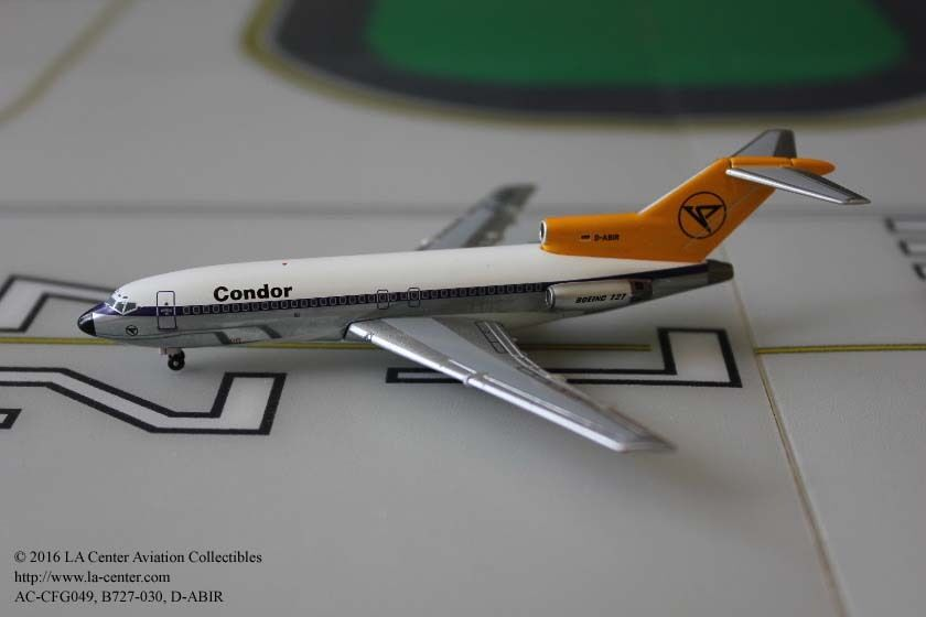 Aeroclassics Condor German Airlines Boeing 727-030 Old color Diecast Model 1 400