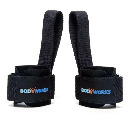 Bodyworks Power Comfort Lifting Straps Zughilfen gepolstert für Kraftsport