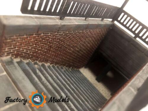Subway h0//1:87 Entrada estacion metro estacion subterranea