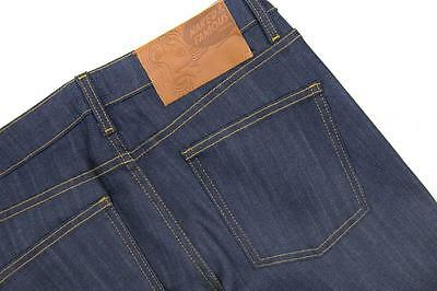 Naked & Famous Super Skinny Guy Natural Indigo Power Stretch Denim in True Blue