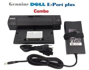Dell-Latitude-E-Port-Plus-PA4E-Adapter-Replicator-Dock-Docking-Station-PR02X
