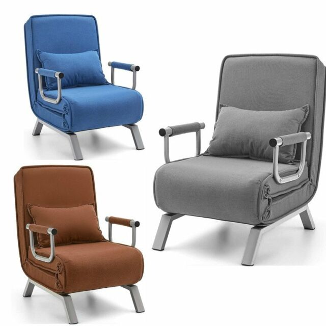 Pragma Bed Sscc Bge02 Single Sleeper Convertible Chair Beige For Sale Online Ebay