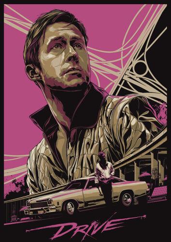 Movie//Film Art Print//Poster Ryan Gosling Drive d2269