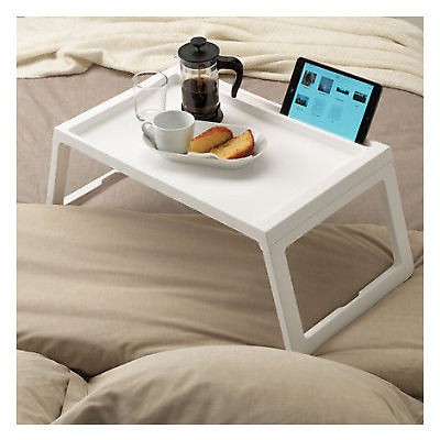 IKEA KLIPSK Breakfast Food Meal Serving Bed Tray Table w/ iPad Holder 3 Colours