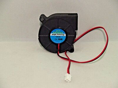 Radial Blower Fan 12V 0.15A 50mmx15mm 2 Pin Connector Laptop 3D Printer  USA