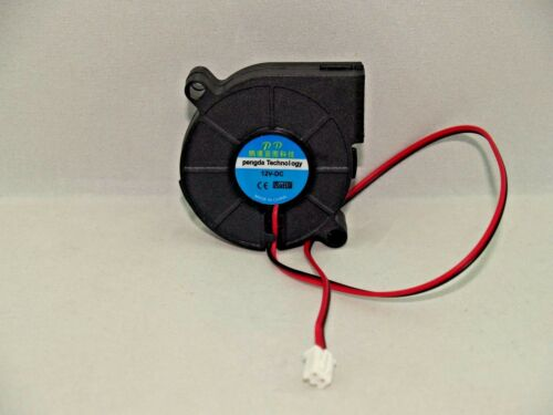 Radial Blower Fan 12V 0.15A 50mmx15mm 2 Pin Connector Laptop 3D Printer  USA