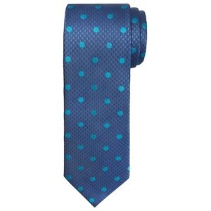 Navy Houndstooth Silk Tie Chester Barrie wL3qJz1m
