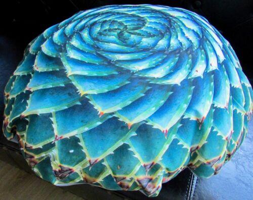 "Cushion Pillow 3D Look Garden Cushion Bodensitzkissen /"" Succulent Plant /"""