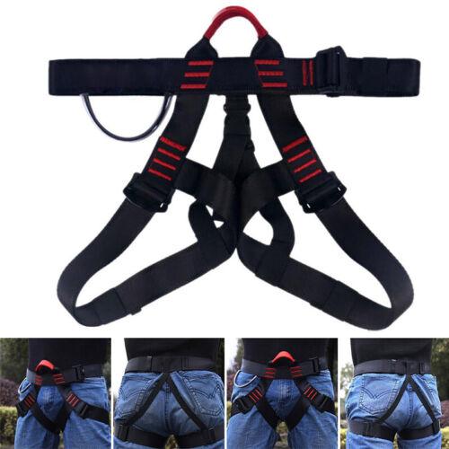 Universal Klettergurt Hüftgurt mit Verstellbaren Beinschlaufen für Bergsteigen