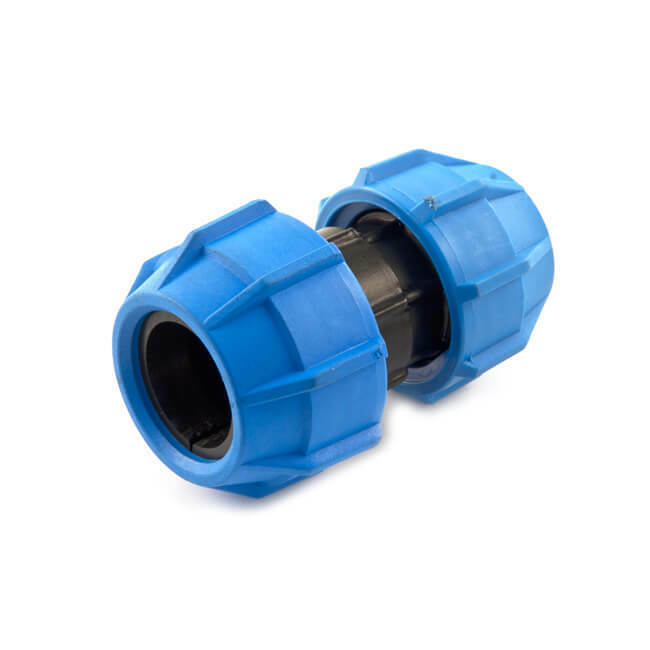 NEW Polyfast Reducing Coupling - 50mm x 32mm MDPE UK SELLER, FREEPOST