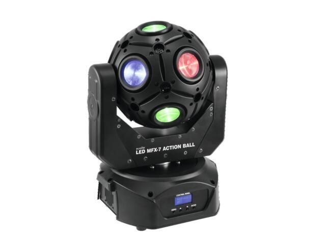 Eurolite LED MFX-7 Action Ball - 12 x 15W QCLs RGBW- Farben
