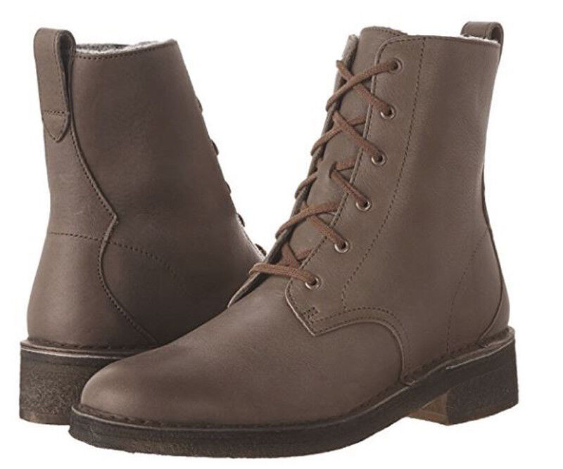 New Clarks Original Women Maru Mali Leather Leather Leather Combat Boots Variety color&Sizes 379c1c