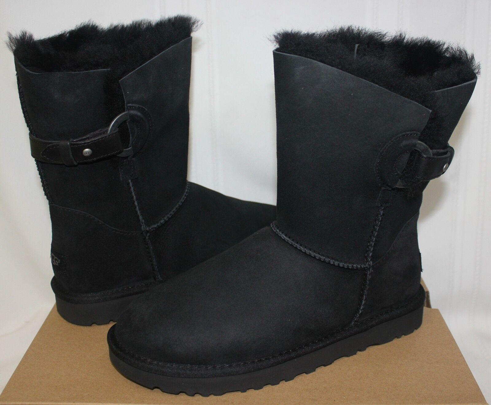 Botas de gamuza Nash negras de UGG para mujer ¡Nuevo con caja!