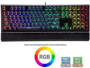 Rosewill NEON K85 RGB Mechanical Gaming Keyboard with Kailh Brown Switches