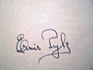 BRAVE-MEN-SIGNED-ERNIE-PYLE-1st-Hb-War-Hero-Killed-in-action-WW2-correspondent