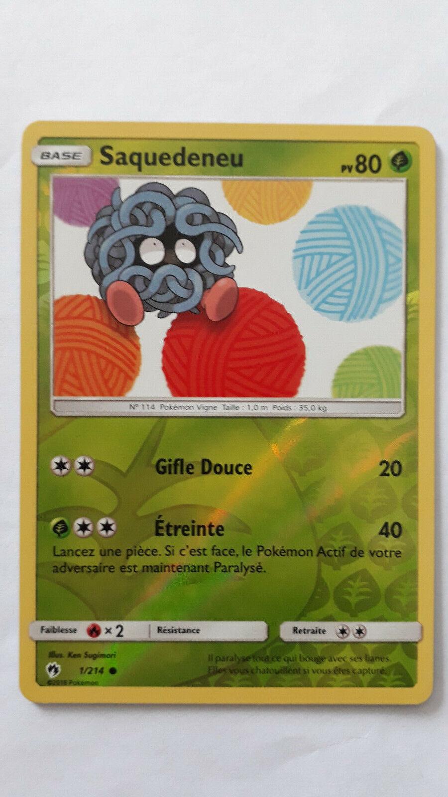 VF Français SL8-90//214 Pokemon Zarbi Rare