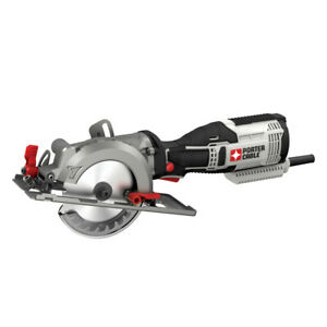 Porter-Cable-5-5-Amp-4-1-2-in-Circular-Saw-Kit-PCE381KR-Certified-Refurbished