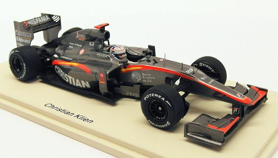 Spark 1 43 Scale S3012 - F1 HRT F1-10 Brazil GP 2010