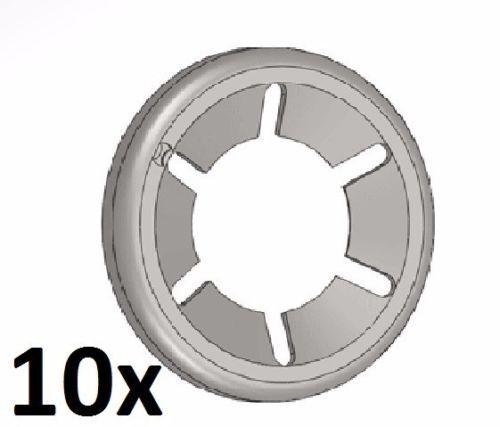 10x Starlock 5 mm zingué Rondelle de sécurité serrure vitesse Rondelles d/'arrêt