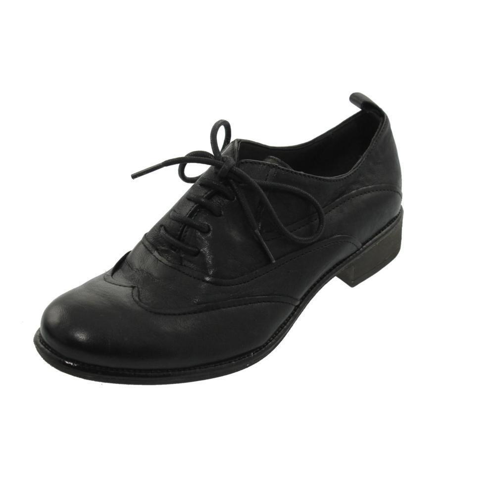 NIB donna Boutique  9 Royal Classic Wingstip Lace Up Oxfords Dimensione 6.5 nero  130  negozio di sconto