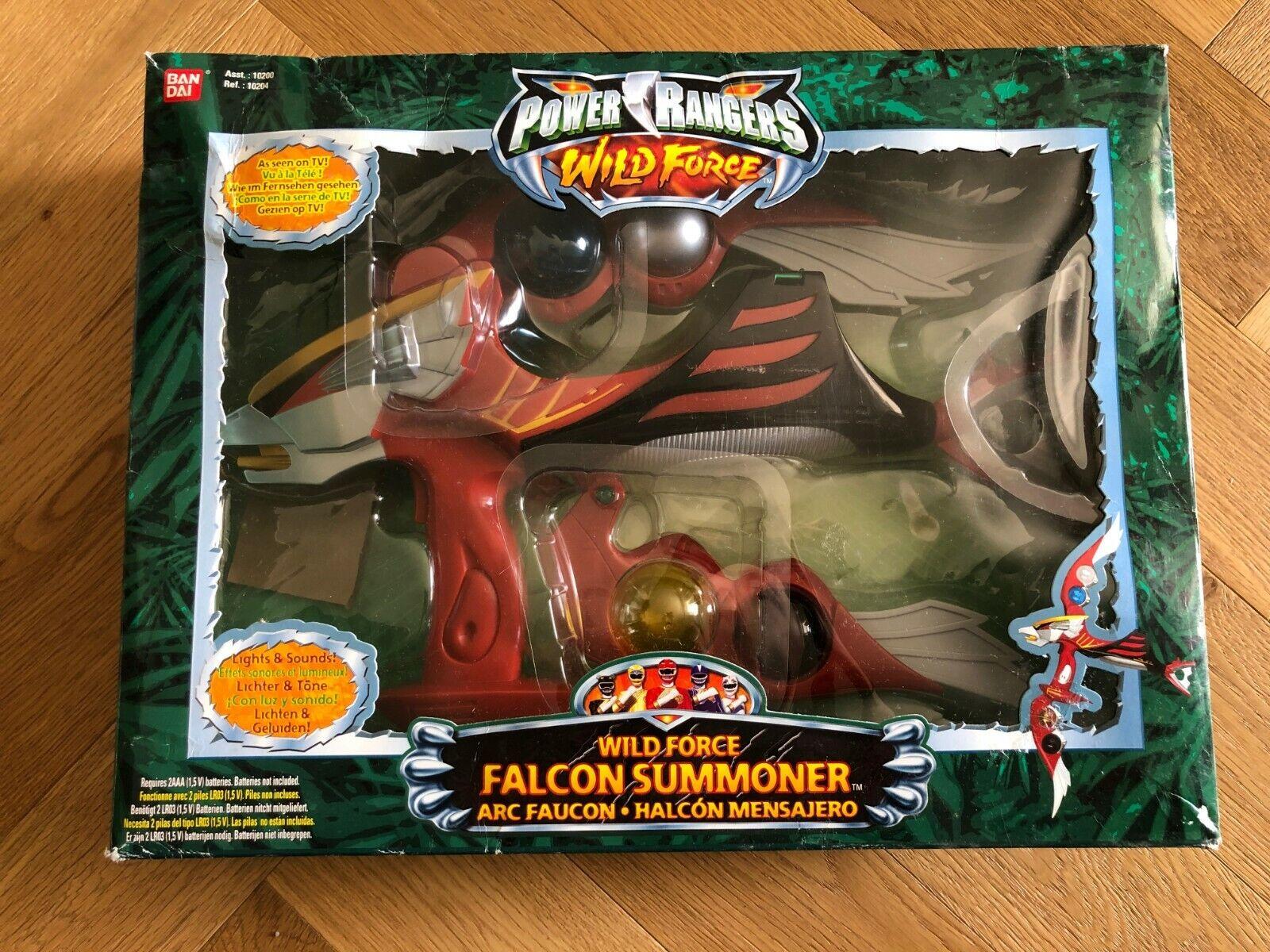Energia  Rangers Wild Force Falcon Summoner Arc Faucon Force Animale RARE MINT  disponibile