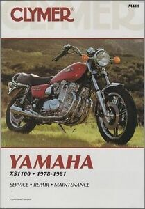 Details about 1978-1981 Yamaha XS1100/Special Clymer Repair Service on