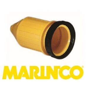 MARINCO Stecker 32 Ampere Abzugshaube Gummi Gelb