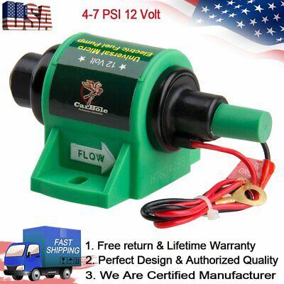 High Performance Micro Electric Diesel Fuel Pump 12 Volt 5//16 inch