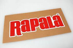 Rapala Bass Boat Carpet Graphic Multiple Sizes Decal Logo EBay - Decals for boat carpetbass boat decals ebay