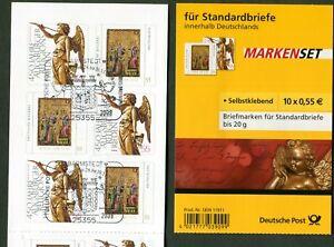 5-x-Bund-2700-2701-Markenheftchen-MH-76-SK-gestempelt-Barmstedt-Sonderstempel