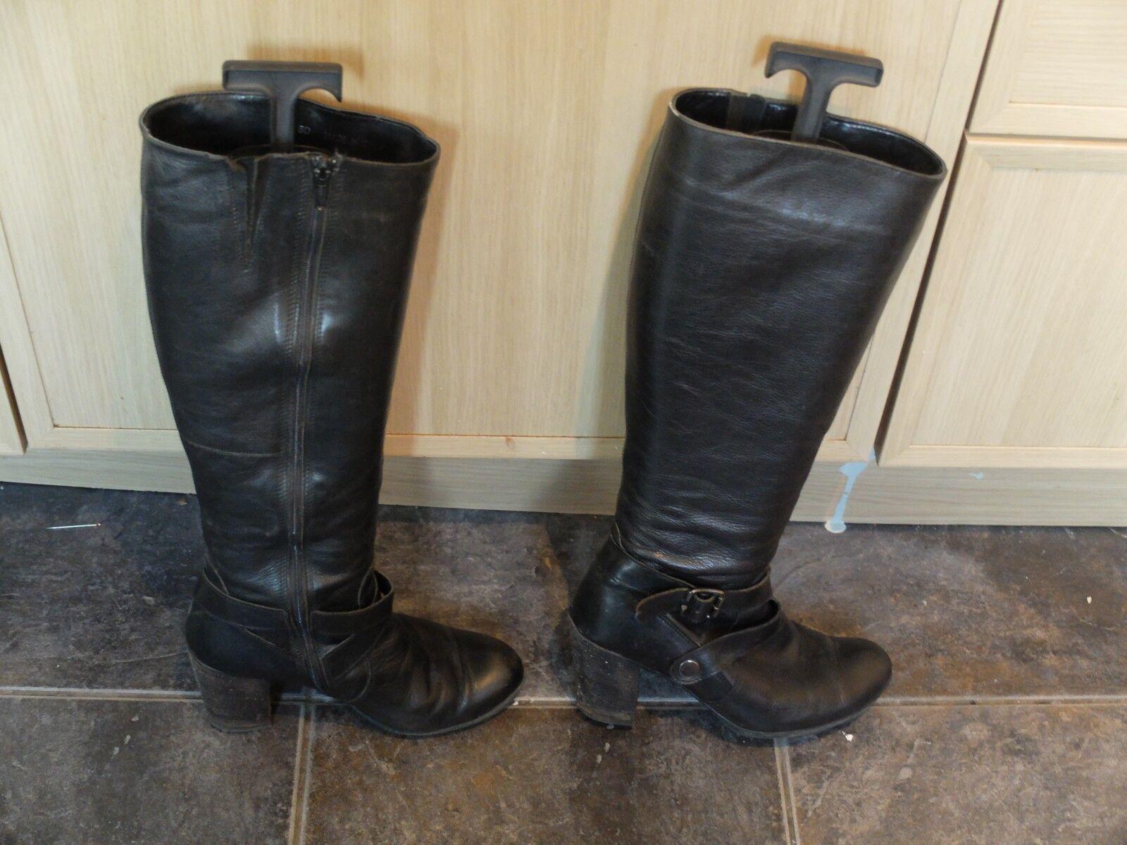 USATO Clarks Stivali in Pelle con Stivali barelle-misure