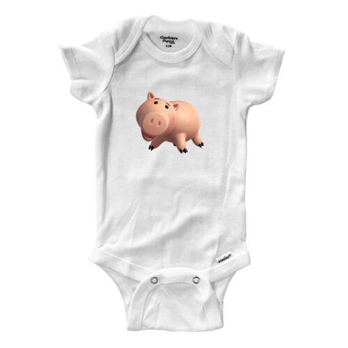 Pig Hamm Piggy Bank Infant Gerber Onesies Bodysuit baby shower Gift Toy Story